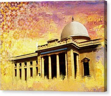 Supreme Court Karachi Canvas Print by Catf
