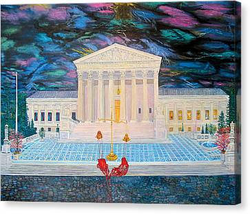 Supreme Court Canvas Print by Mike De Lorenzo
