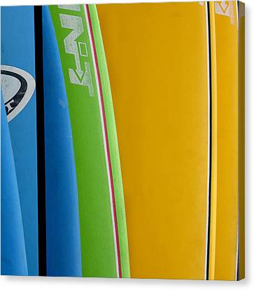 Surf Boards Canvas Print by Art Block Collections