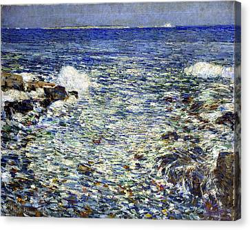 Surf Canvas Print by Frederick Childe Hassam