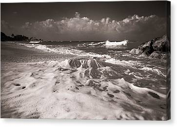 Surf Canvas Print by Sergey Simanovsky