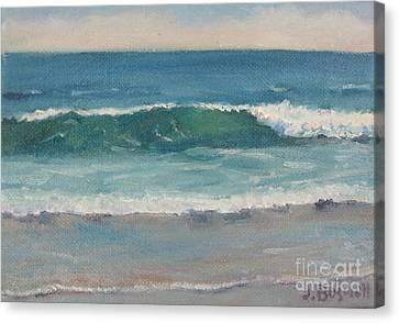 Surf Series 5 Canvas Print by Jennifer Boswell