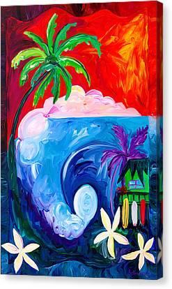 Surf Spot Canvas Print by Beth Cooper