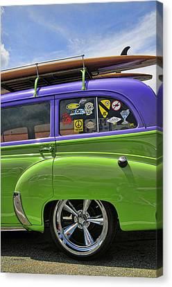 Surf Wagon Canvas Print by Kenny Francis
