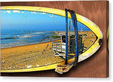 Surfboard Dreams Canvas Print by Ron Regalado