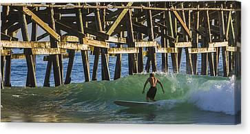 Surfer Dude 1 Canvas Print by Scott Campbell
