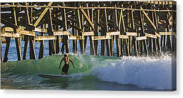 Surfer Dude 2 Canvas Print by Scott Campbell
