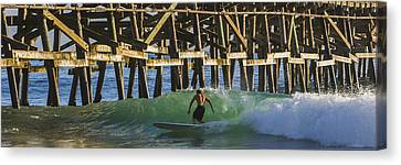 Surfer Dude 3 Canvas Print by Scott Campbell