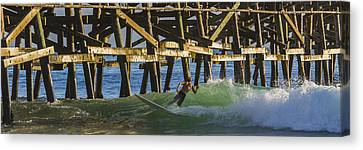 Surfer Dude 4 Canvas Print by Scott Campbell