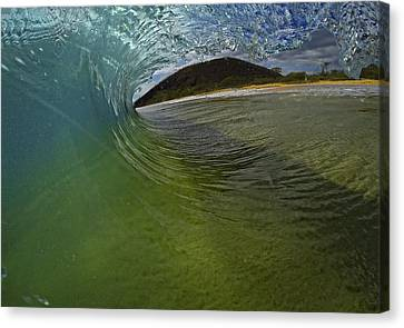Surfers View Canvas Print by Brad Scott