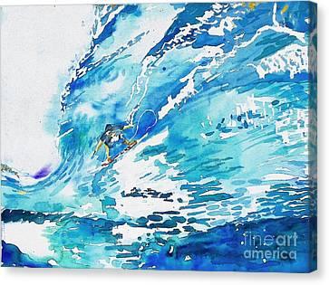 Surfing San Clemente Canvas Print