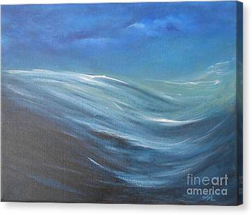 Surge Canvas Print by Jane  See