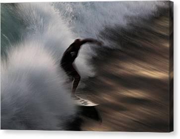 Surge Canvas Print by John Daly