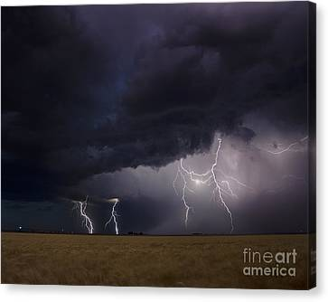 Surging North Canvas Print