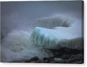 Surging Sea Canvas Print