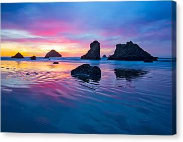 Surprise Sunset Canvas Print