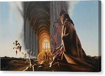 Surreal Cathedral Canvas Print by Dave Martsolf