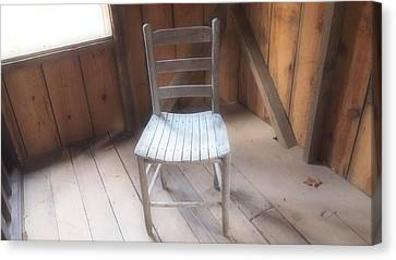 Surreal Chair Canvas Print by Dan Sproul