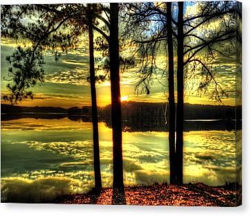 Surreal Lake Canvas Print