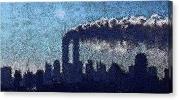 Surreal Silhouette  Canvas Print by James Kosior