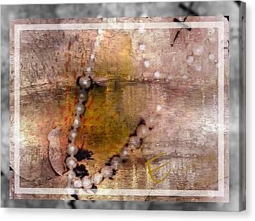 Surrender To Love Canvas Print by Ernestine Manowarda