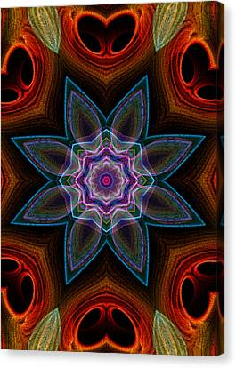 Canvas Print featuring the digital art Surround by Owlspook
