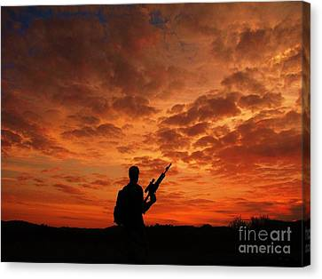 Canvas Print - Surviving The Apocalypse by Shane Brumfield