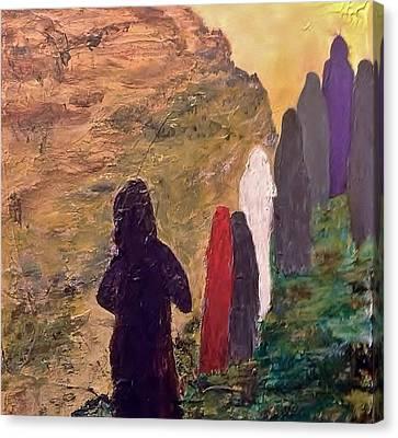 Seem Canvas Print - Survivors  by Bruce Combs - REACH BEYOND