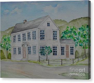Susan B. Anthony Birthplace Canvas Print by Sally Rice