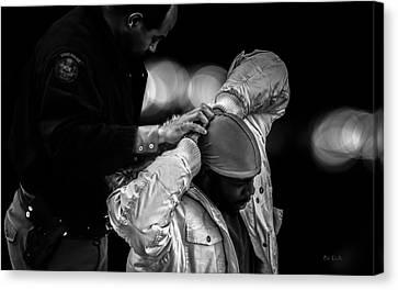 Arrest Canvas Print - Suspect  by Bob Orsillo