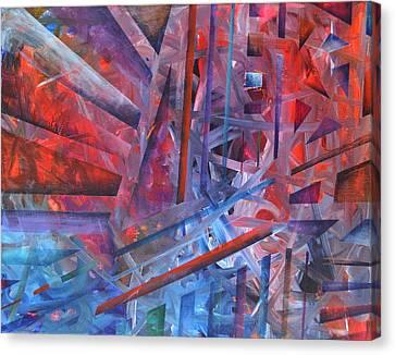 Counterpoint Canvas Print - Suspension Resolution by Regina Valluzzi