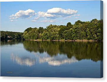 Susquehanna River Canvas Print by Christina Rollo