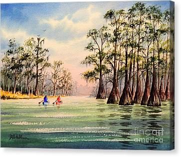 Suwannee River Canvas Print