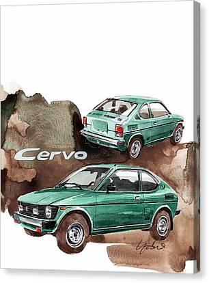 Suzuki Cervo Canvas Print
