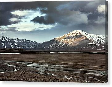 Svalbard Mountains Canvas Print by Paul Williams