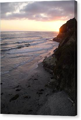 Swami's Sunset Canvas Print by Mark Barclay