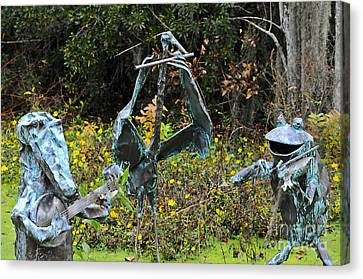 Swampland Critter Band 1 Canvas Print by Al Powell Photography USA
