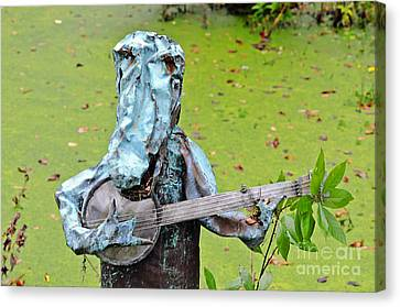 Swampland Critter Band 2 Canvas Print by Al Powell Photography USA