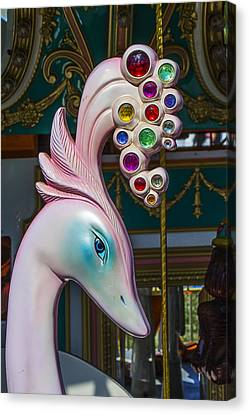Swan Carrsoul Ride Canvas Print by Garry Gay