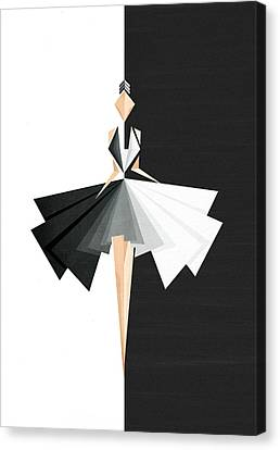 Fashion Canvas Print - Swan Lake by VessDSign
