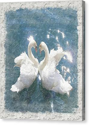Swan Song Canvas Print by Don Melton