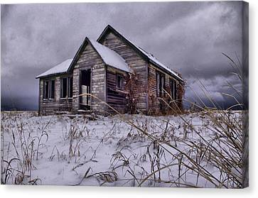 Swan Valley School  Canvas Print by Dave Bower