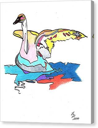 Swan2010 Canvas Print