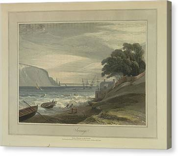 Swanage Canvas Print by British Library