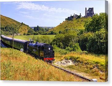 Swanage Steam Railway Canvas Print