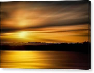 Swanson Lake Canvas Print by Gary Smith