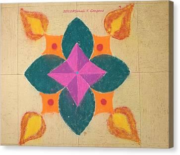 Swarna Jyot Canvas Print by Sonali Gangane