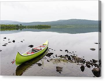 Sweden, Norrbotten, Torne River Canvas Print by Fredrik Norrsell