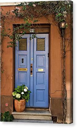 Swedish Door Canvas Print