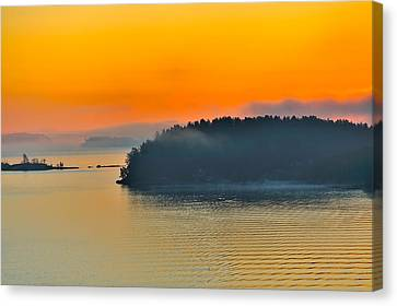 Canvas Print featuring the photograph Swedish Sunrise by Marianne Campolongo